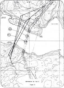 Pont LGL carte des tracés D (1979)