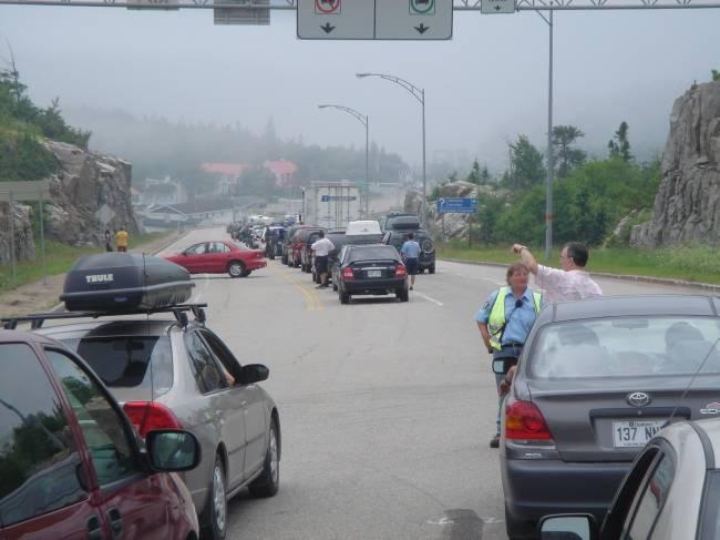 Les délais d'attente excessifs induisent des demi-tours des automobilistes.